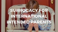 Surrogacy for International Intended Parents