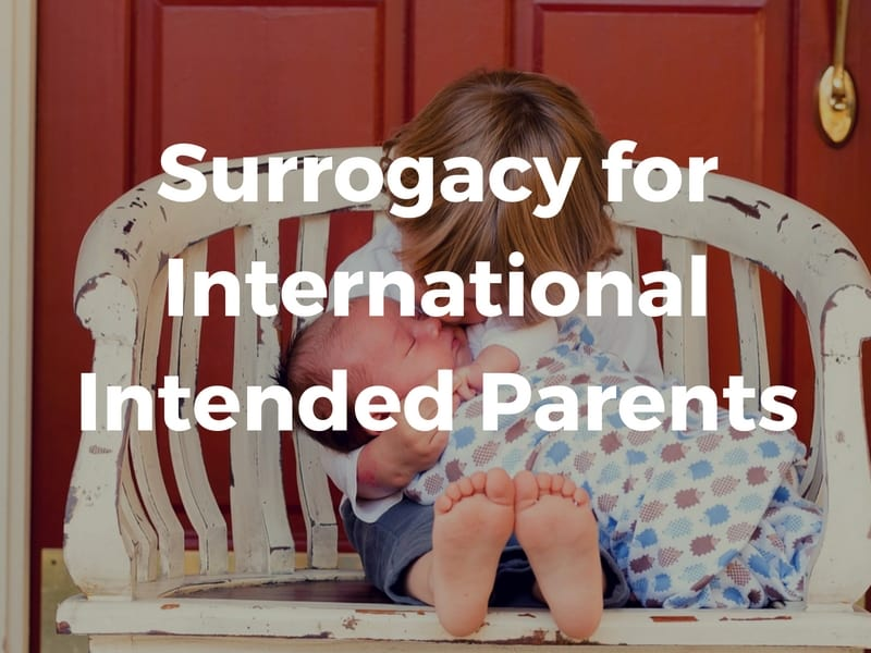 Surrogacy for international parents